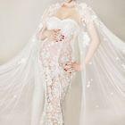 Maternity Lace Wedding Dress 1596