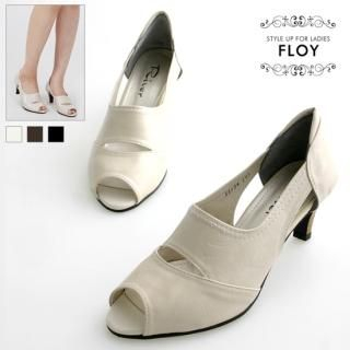 Buy FLOY SHOES Cutout Open-Toe Pumps 1023054731