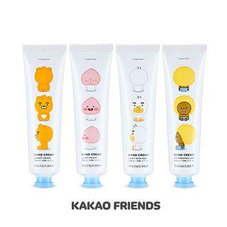 The Face Shop - Little Friends Hand Cream 30ml (4 Types) (Kakao Friends Edition) Little Ryan - Grape 1062396256