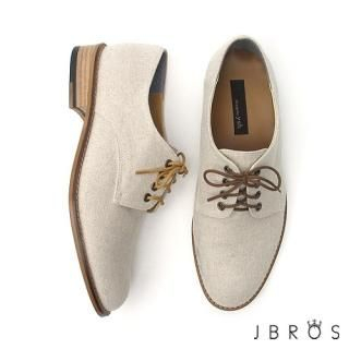 Picture of JBROS Lace-Up Hemp Loafers 1022742540 (Loafer Shoes, JBROS Shoes, Korea Shoes, Mens Shoes, Mens Loafer Shoes)