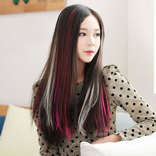 Clip-On Hair Extension - Straight 1050181171