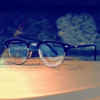 Half-Frame Glasses 1054119678