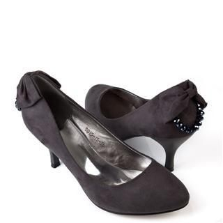 Buy Cocoeve Back Bead Bow Trim Pumps 1022364321