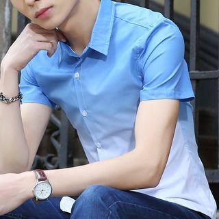Image of Short-Sleeve Gradient Shirt
