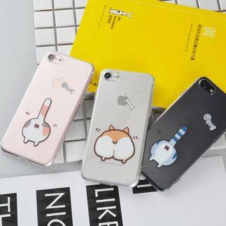 Image of Animal Printed Phone Case - iPhone X / 8 / 8 Plus / 7 / 7 Plus / 6S / 6S Plus / 5S