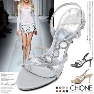 Picture of Chione Glitter Sandals 1022827750 (Sandals, Chione Shoes, Korea Shoes, Womens Shoes, Womens Sandals)