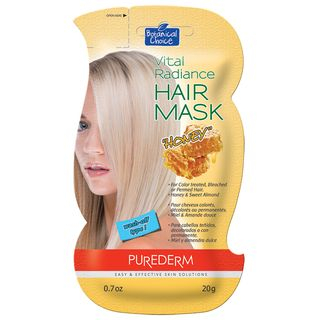 PUREDERM - Vital Radiance Hair Mask (Honey) 20g 20g 1062625558