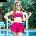 Set: Bikini + Skirt 1596
