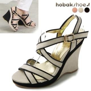Buy HOBAK girls Strappy Wedge Sandals 1022868556