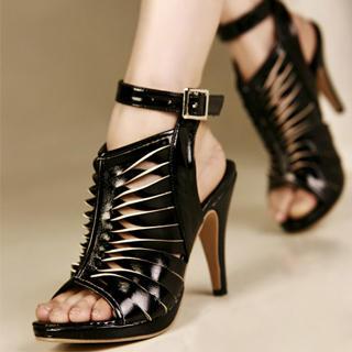 Buy Kvoll Cutout Heels 1022991137