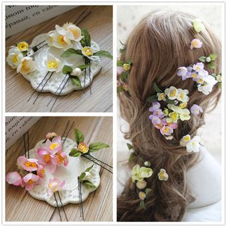 Bridal Flower Hair Pin 1057955797