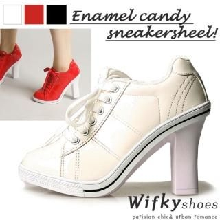 Buy Wifky Lace-Up Sneakers Detail Pumps 1023028397