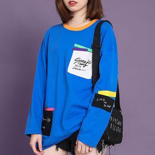 Sweatshirt | Sapphire | Blue | Size | One