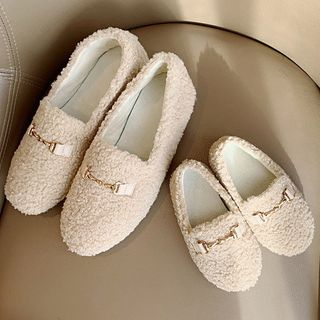 Image of Family Matching Faux Shearling Loafers