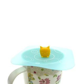 Silicone Cat Cup Lid One Size - United states