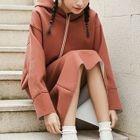 Set: Hooded Top + Pencil Skirt 1596