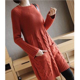 Ribbed Knit Dress 1057263880