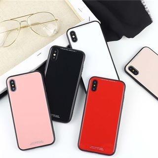 Plain Case for iPhone 6 / 6 Plus / 7 / 7 Plus / 8 / 8 Plus / X 1064295512