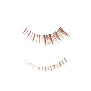 Set: 3 Pairs Upper False Eyelashes + 2 Pairs Lower False Eyelashes (Coffee) 5 pairs 1045871130