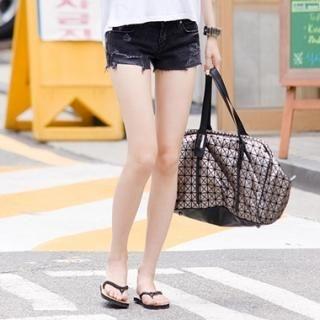 Buy Koo Distressed Denim Shorts 1022972332