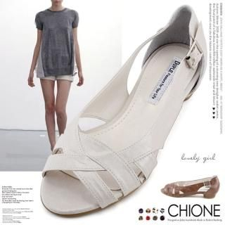 Buy Chione Cutout Side Sandals 1022928641
