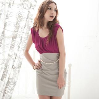 """Buy Joanne Kitten Mock Two-Piece """"Bead"""" Dress 1023040850"""