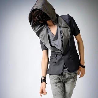 Picture of deepstyle Oversized Hood Blazer 1022755421 (deepstyle, Mens Jackets, Korea)