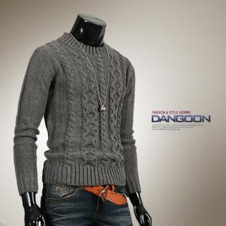 Picture of DANGOON Cable-Knit Sweater 1021957587 (DANGOON, Mens Knits, Korea)