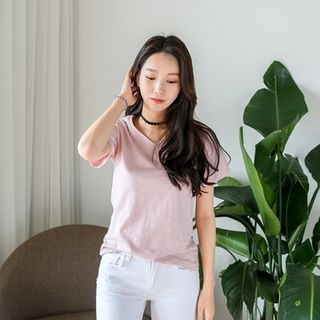 V-Neck Short-Sleeve T-Shirt 1060065542