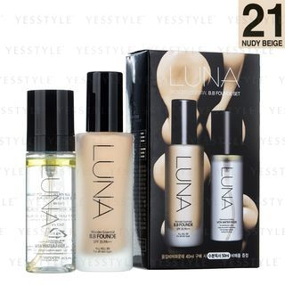 LUNA - Wonder Essential BB Founde Set (#21 Nudy Beige): BB Founde 40ml + Vita Water Fixer 50ml 1050579775