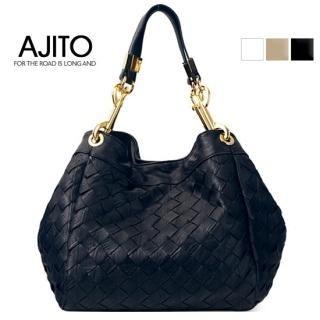 Picture of AJITO Woven Hobo 1022977087 (AJITO, Hobo Bags, Korea Bags, Womens Bags, Womens Hobo Bags)
