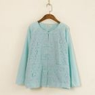 Lace Chinese Frog Button Blouse 1596