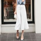 Set: Sleeveless Chiffon Top + Wide-Leg Pants 1596