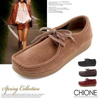 Buy Chione Faux-Suede Loafers 1022283649