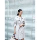 Open-Front Trench Coat with Belt от YesStyle.com INT