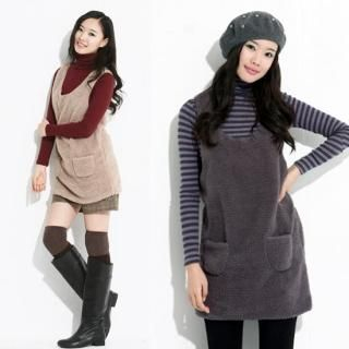 Picture of Celli Girl Fleece Jumper Dress 1021575654 (Celli Girl Dresses, Womens Dresses, South Korea Dresses, Jumper Dresses)