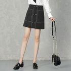Panel Mini Skirt 1596