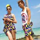 Floral Beach Shorts / Floral Bikini Set 1596