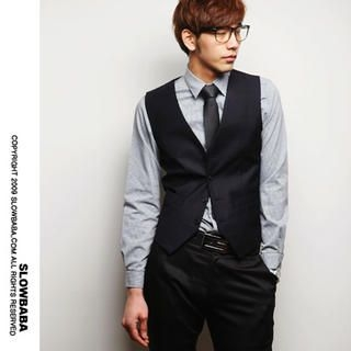 Picture of SLOWBABA Button Vest 1022211769 (SLOWBABA, Mens Tees, Korea)