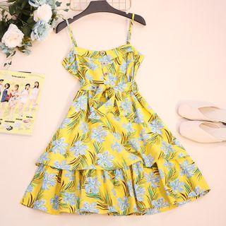 Spaghetti | Floral | Strap | Dress | Print