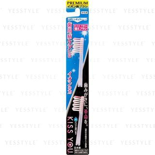 Kiss You - Ionic Mountain Cutting Hard Hair Toothbrush Head (Refill) (Random Color) 2 pcs 1058331232