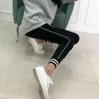 Contrast-Trim Workout Leggings 1596