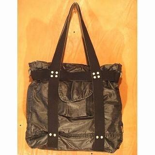 Picture of b3Labo Studded Tote Bag Black - One Size 1014382516 (b3Labo, Tote Bags, Japan Bags, Mens Bags, Mens Tote Bags)