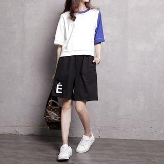 Printed Cotton Shorts 1049965376