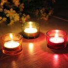 Glass Candle Holder 1596