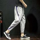 Contrast Trim Drawstring Sweatpants 1596