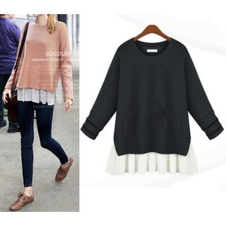 Ruffle Hem Sweater 1049123592