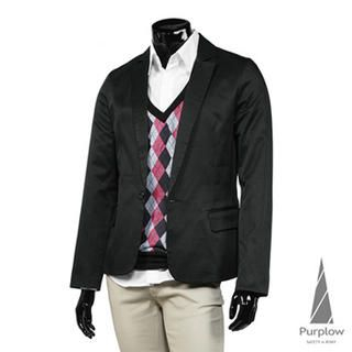 Buy Purplow One Button Blazer 1013757139