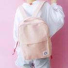 Applique Canvas Backpack 1596