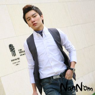Buy NanNom Single-Button Vest 1022480659
